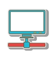 computer host technology vector image