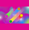 abstract vibrant background design with colorful vector image vector image