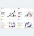 business success solution set vector image