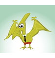 Dinosaur bird vector image