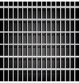 Prison grid on black vector image vector image
