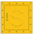 Safe box vector image