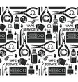 Endless background vape service vector image vector image