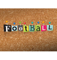 Football Concept vector image vector image
