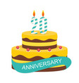 template 20 years anniversary congratulations vector image vector image