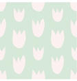 Pastel decoration background with floral print vector image