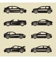 auto icon vector image vector image