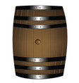 Barrel of wine vector image vector image
