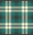 check plaid fabric pixel seamless pattern vector image vector image