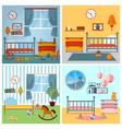 Children Bedroom Interior Child Furniture and Toys