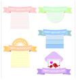 Cute banner for mother day vector image