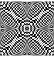 Design seamless monochrome checkered pattern vector image vector image