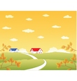 nature landscape vector image vector image