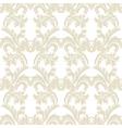Baroque floral Damask pattern vector image