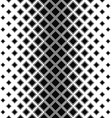Black and white vertical square pattern background vector image vector image