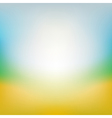 Blurred summer background vector image
