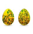 - easter eggs vector image vector image