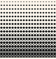halftone pattern with rhombuses diamonds vector image vector image