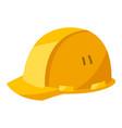helmet housing construction item vector image