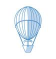 hot air balloon icon vector image vector image