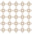 Light brown hop flowers digital seamless pattern vector image vector image