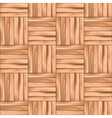 Oak Cubical Parquet Wooden Seamless Pattern vector image