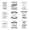 Quotes Typography Set vector image