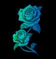 rose flower design beautiful flower vector image