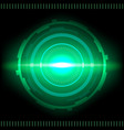 sci-fi futuristic interface abstract technology vector image vector image