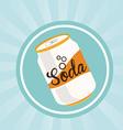 soda design vector image