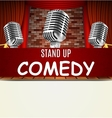 Stand Up Comedy Show vector image