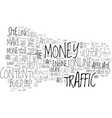 a simple system to make money online text word vector image vector image