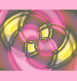 abstract color swirl vortices in the center vector image vector image