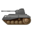 An armoured fighting vehicle vector image vector image