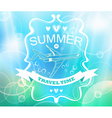 blue tender summer background vector image vector image