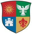 coat arms vector image