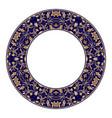 gold circular pattern 01 vector image vector image