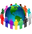 people on earth vector image vector image
