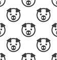 pig seamless pattern vector image vector image