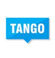 tango price tag vector image vector image