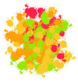 abstract colorful happy holi background for vector image vector image