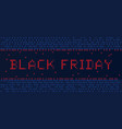 banner black friday vector image vector image