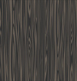 Black wooden texture vector image