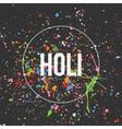 Holi Banner Design for Indian Festival vector image vector image