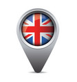 uk pointer flag vector image vector image