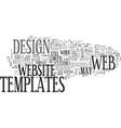 web designers beware text word cloud concept vector image vector image