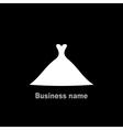 Wedding dress4 vector image vector image