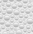 Pattern bubbles vector image