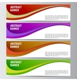 Abstract banner business background vector image
