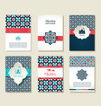 Banners set of islamic vector image vector image